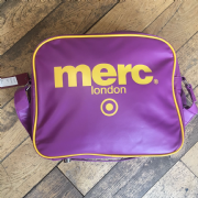 Purple and Yellow Merc Bag